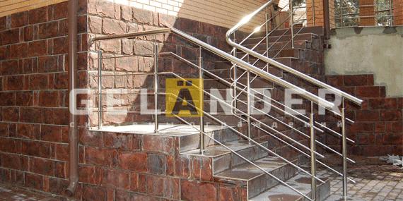 Какие перила выбрать ограждений лестниц промсервис