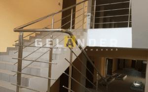 Ограждение Лестницы в офисном здании