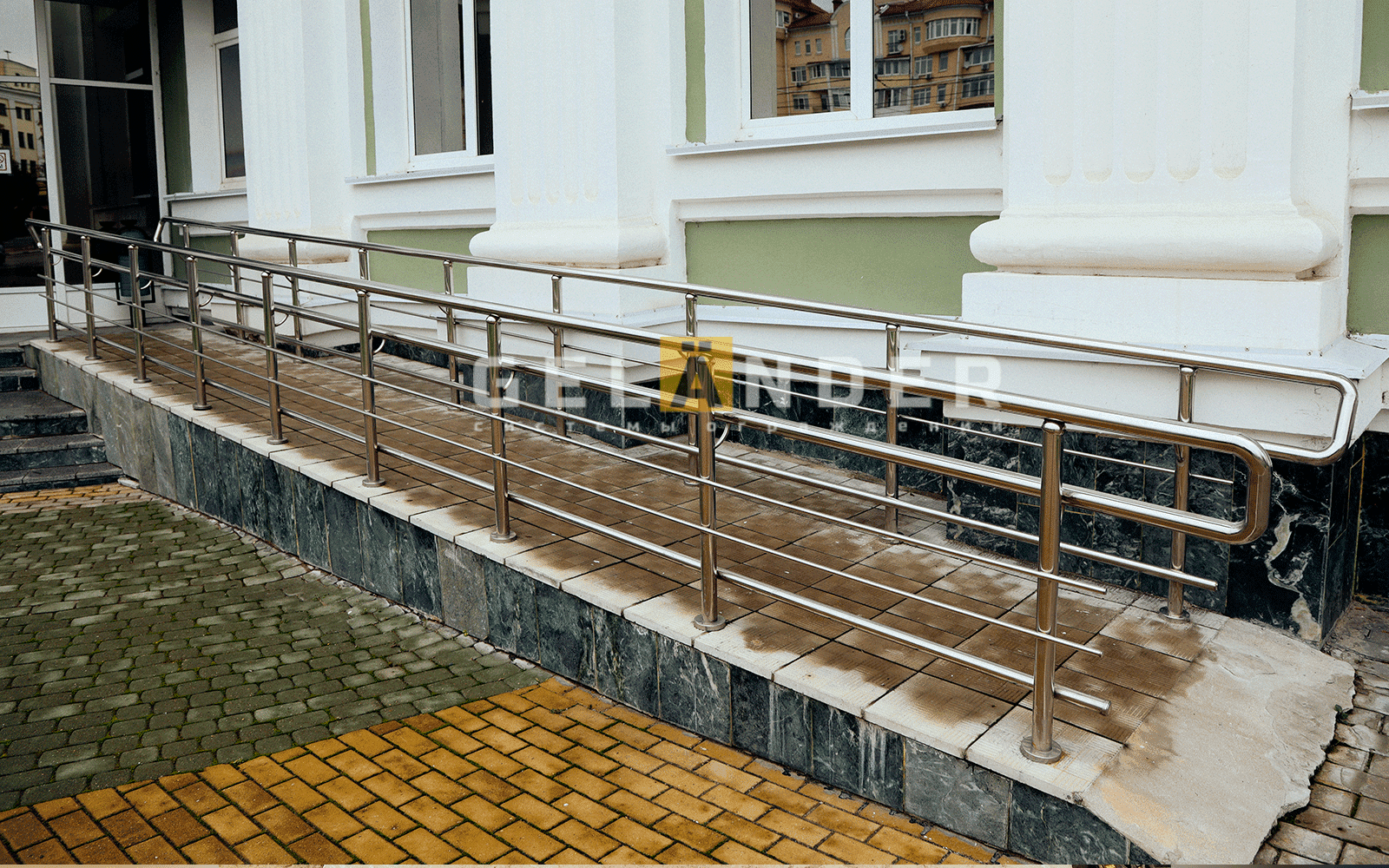 Арбитражный суд г. Орёл; ограждений лестниц промсервис