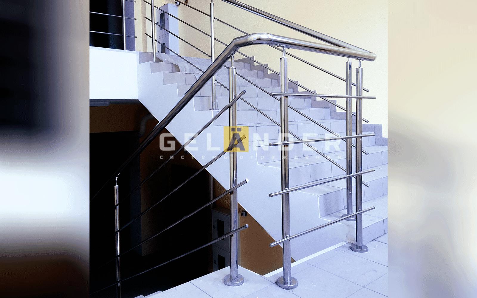 Перила из нержавеющей стали — удобство и стиль ограждений лестниц промсервис