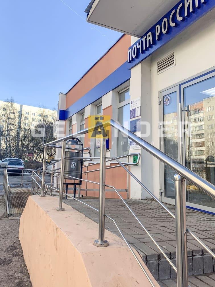 Почтовое отделение по ул. 2-я Курская, г. Орёл; ограждений лестниц промсервис