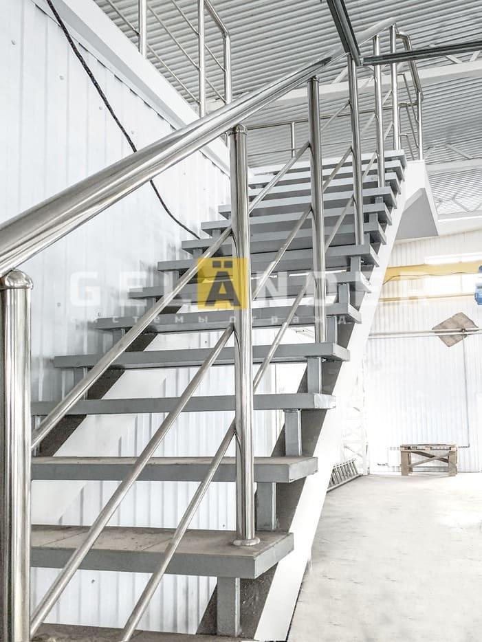 Производственное предприятие «Счетприбор» , г. Орёл; ограждений лестниц промсервис