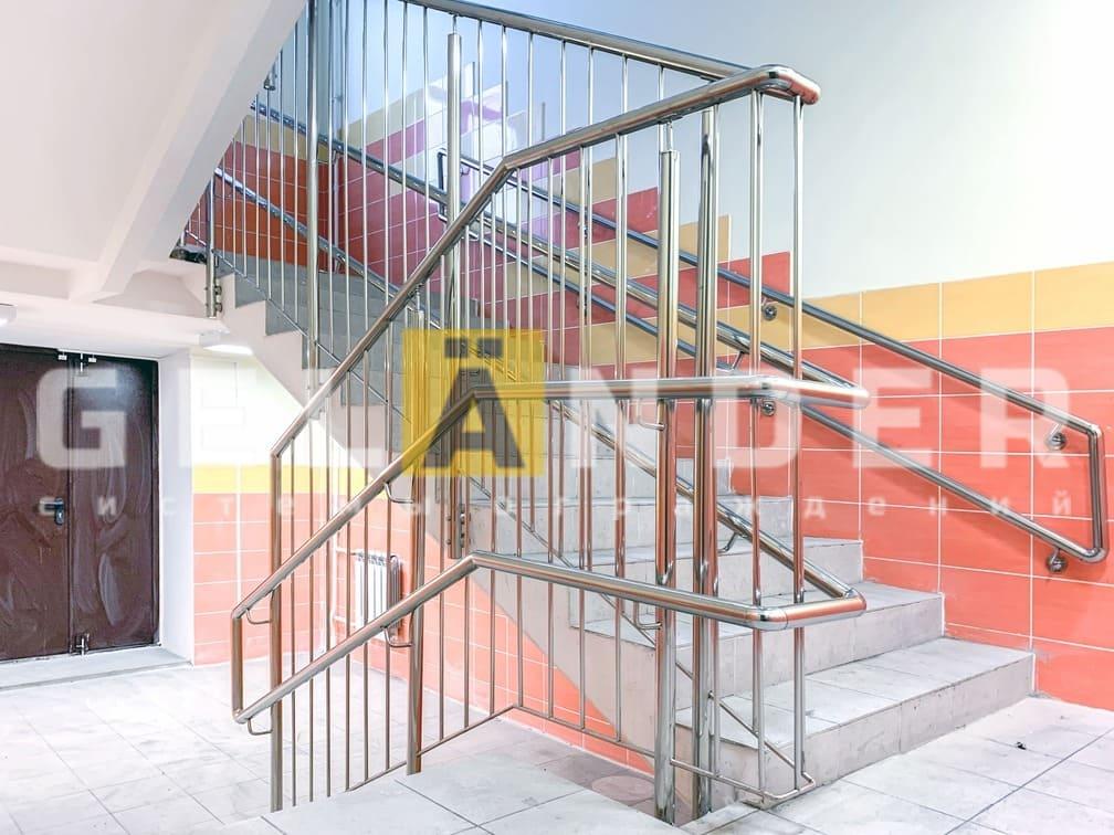 Детский сад, г. Орёл; ограждений лестниц промсервис