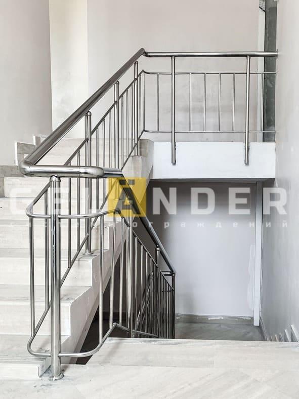 Банно-прачечный комбинат Академии ФСО, г. Орёл; ограждений лестниц промсервис