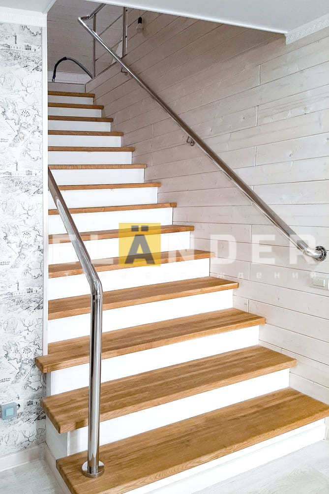 Частный дом в ПГТ Знаменка Орловской области ограждений лестниц промсервис
