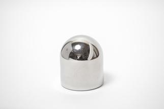 Заглушка декоративная сферическая.38мм, зеркальное. ограждений лестниц промсервис