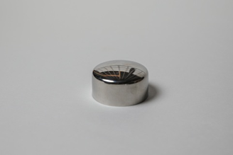 Заглушка накладная для ПВХ поручня д. 50мм, зеркальная ограждений лестниц промсервис