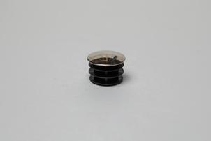 Заглушка забивная пластиковая 16мм (хром) ограждений лестниц промсервис